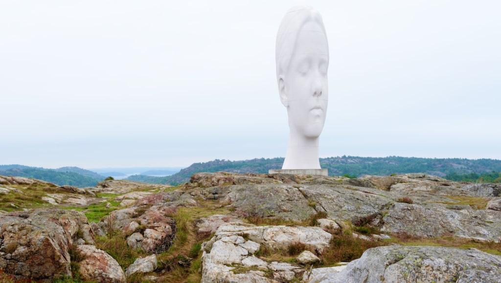 Pilande skulpturpark på Tjörn.