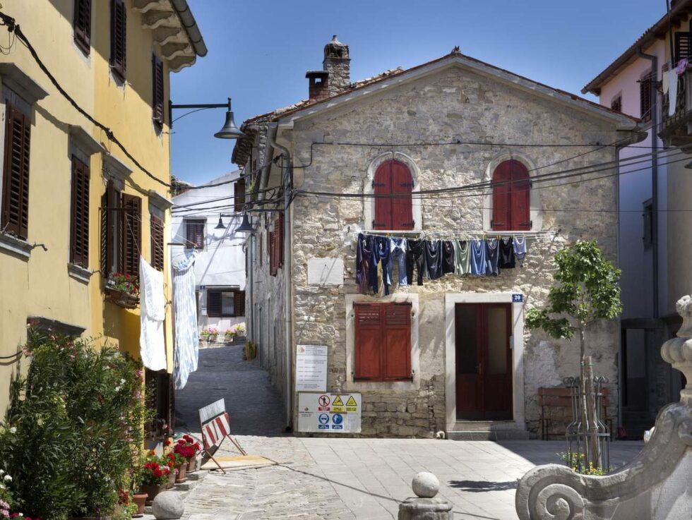 Istriens byar är ännu inte påverkade av turismen.