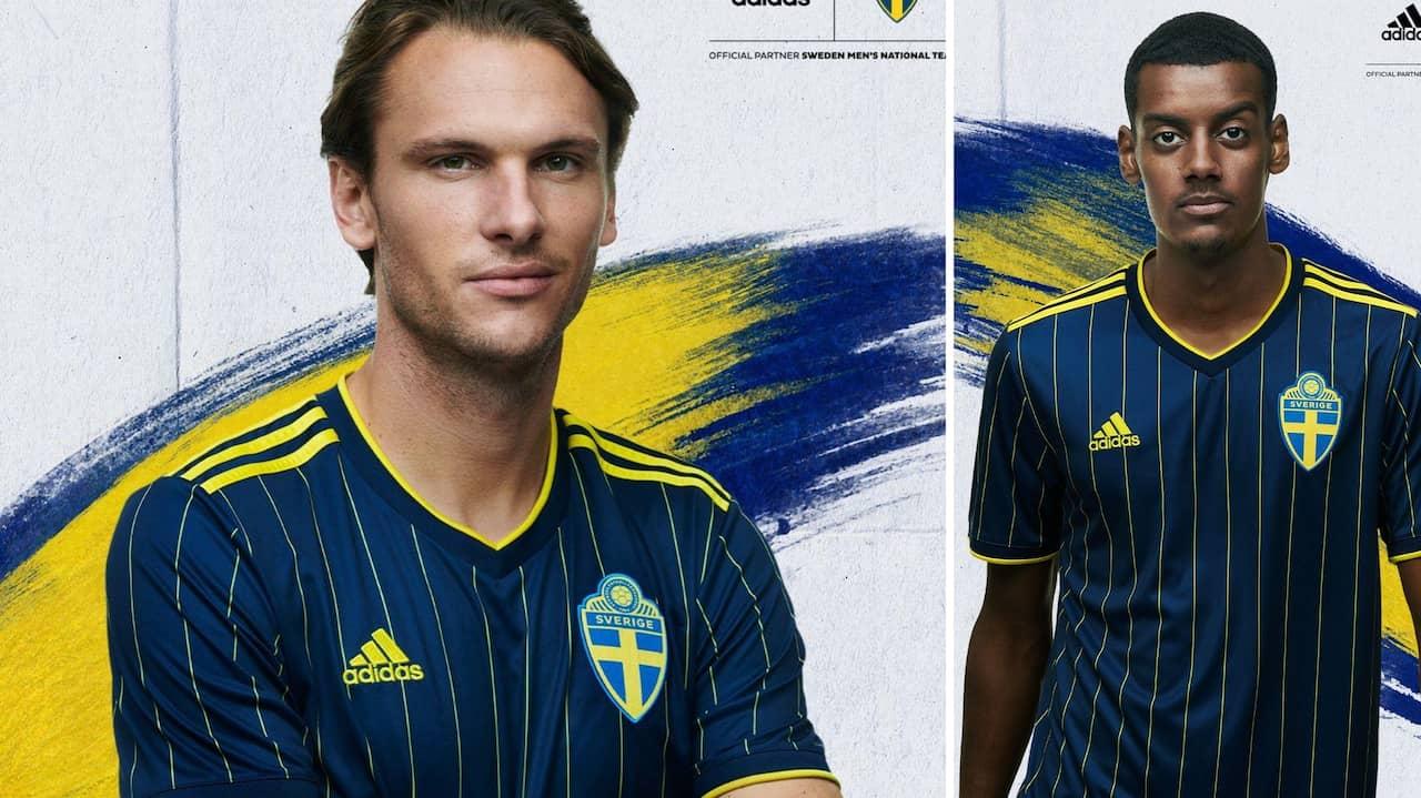 Sveriges matchtröja hyllas stort inför EM