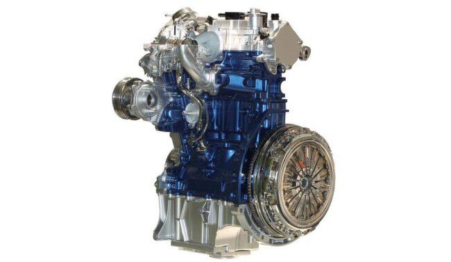 BÄST I VÄRLDEN. Ford 1,0 Ecoboost på bara 999 cc har utsett till årets bästa motor.