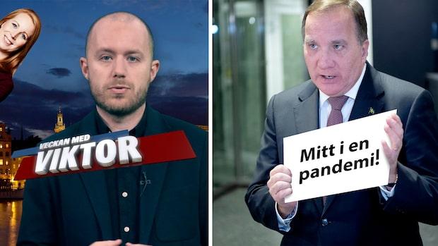 Veckan med Viktor: Får man fälla regeringen precis efter en pandemi?