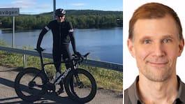 Jimmy cyklade genom hela Sverige – på rekordtid