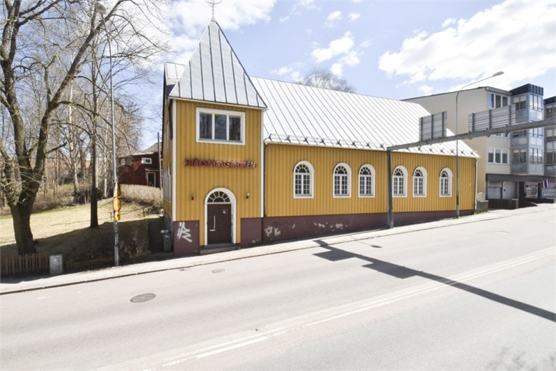 Frälsningsarméns kyrka som är till salu ligger i centrala Avesta.