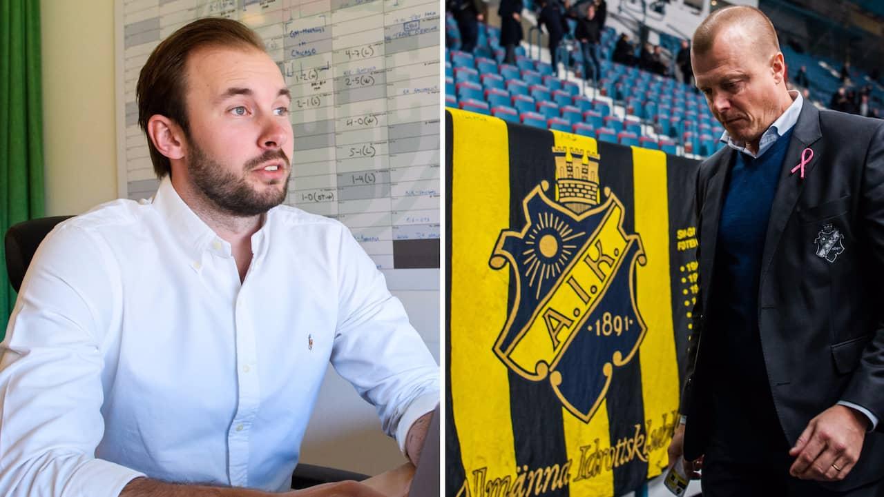 AVSLÖJAR: Han tar över som sportchef i AIK