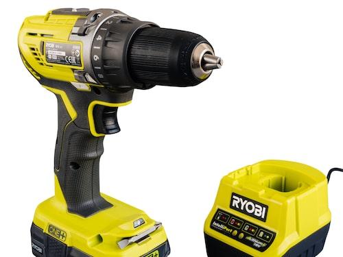 Ryobi R18DD3 borrskruvdragare – Mycket bra borr och batteri