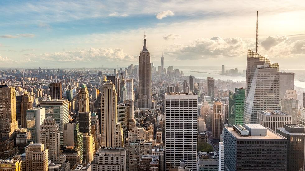 New York, hit vill man alltid åka.