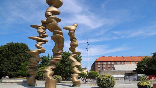 I Malmö finns över 300 offentliga konstverk att beskåda.