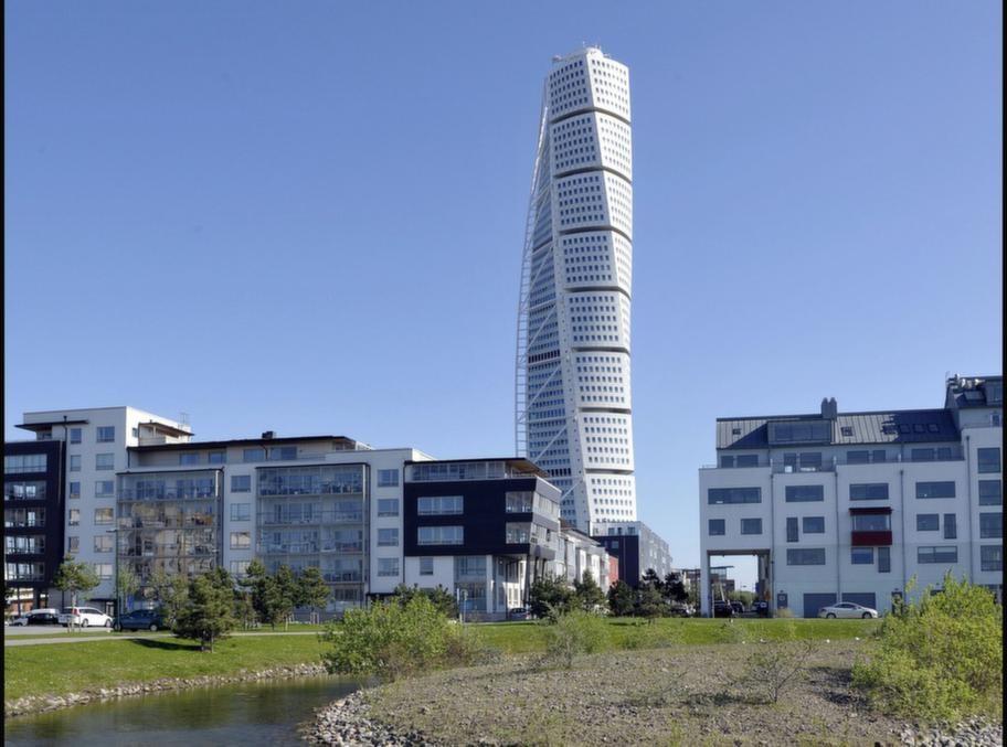 Turning Torso i Malmö – här ligger de flesta lägenheter riktigt högt upp. Vilket, enligt en ny studie, ökar chansen att få ett långt liv.