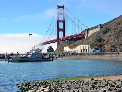 spektakulära vyer över San Francisco-bukten