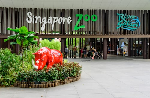 Singapore Zoo anses som ett av de bästa i världen.