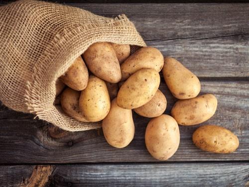 Fredrik Paulún hyllar potatisen. Ät gärna den kokta potatisen kall för extra mättande känsla.
