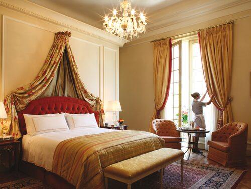 Sviterna på Four Seasons Hotel i Buenos Aires är överdådigt inredda.