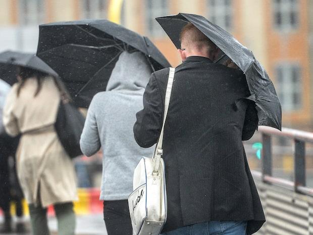 """Så blir vädret i veckan: """"Ytterligare en del regn –och lite snö"""""""