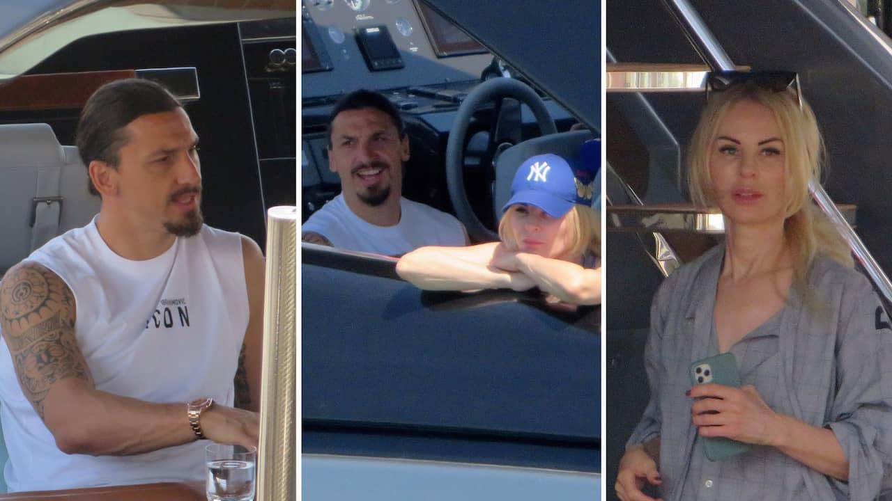 Zlatans semester med familjen – på lyxbåten