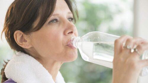 Drick när du är törstig.