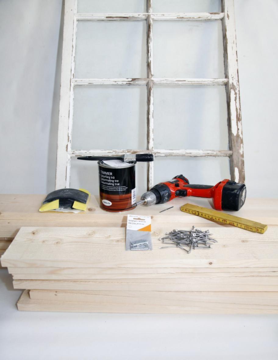 <strong></strong>Sakerna som behövs - material och verktyg.