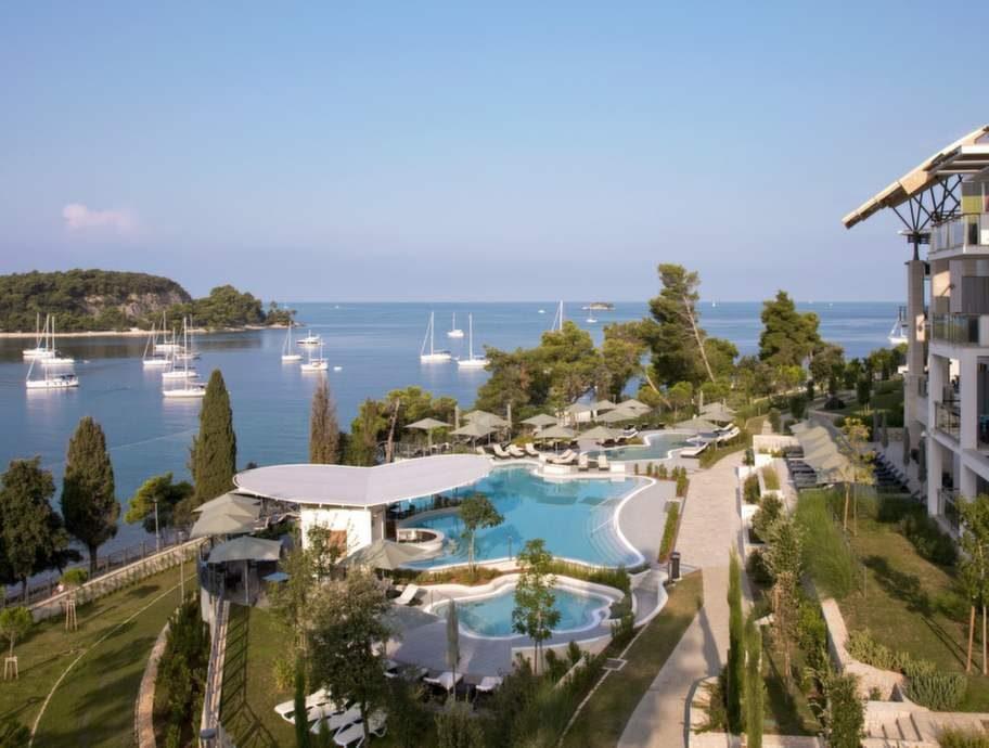 Monte Mulini rankas som det bästa i hela Kroatien av Tripadvisor.