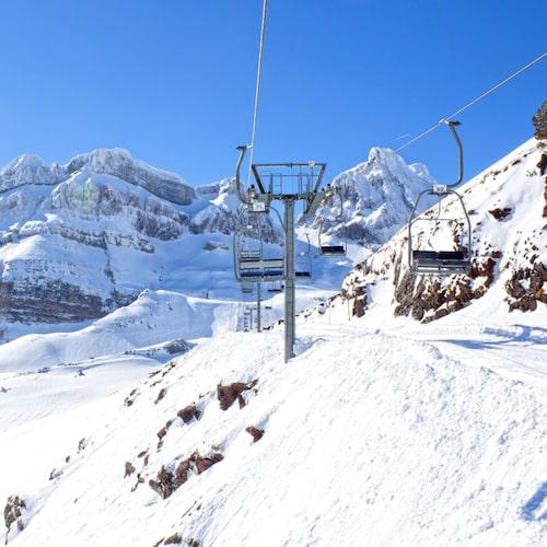 Candanchú i Aragón är en fin skidort.