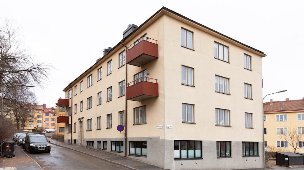 Här bor Johanna Nordström – men nu är det dags att flytta.