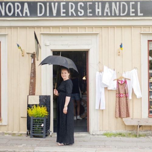 Nora Diversehandel är ett måste för secondhand-älskare.