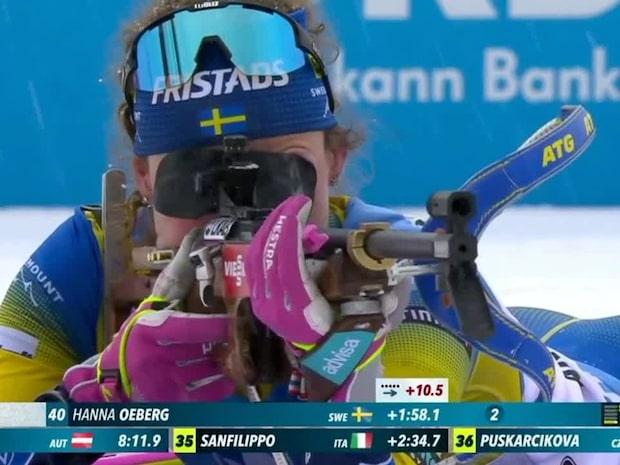 """Hanna Öberg långt efter i distans: """"Vad är det som händer?"""""""