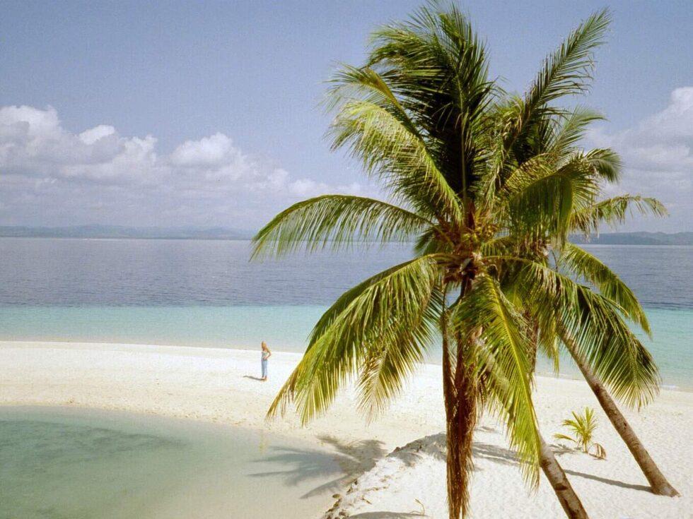 Palawan i Filippinerna.