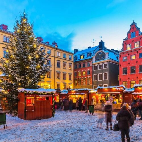 Gamla stans julmarknad på Stortorget är en av Europas bästa.