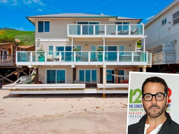 Jeremy Piven hyr ut sitt hus i Malibu.