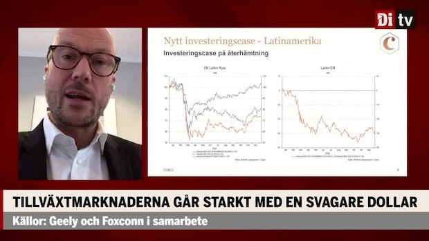 Erik Lundkvists investeringscase: Tillväxtmarknaderna går starkt med svag dollar