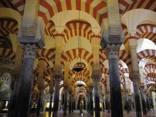 Mezquita – en korsning av moské och katedral.