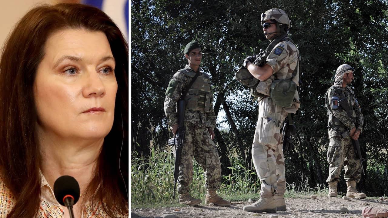 "Ann Linde om talibanerna: ""Exceptionell grymhet"""