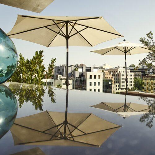 Porto Bays takterrass har blivit fado-artisten Marizas stamställe.