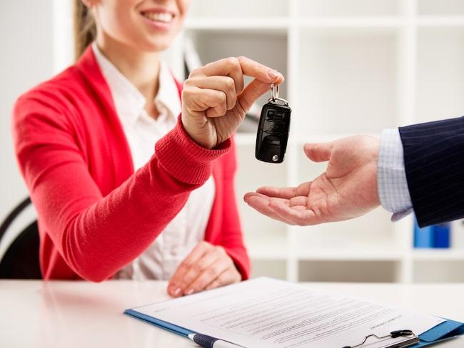 Många kunder är missnöjda med sina bilköp.