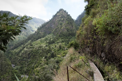 Levada do Castelejo, inget för den höjdrädda.