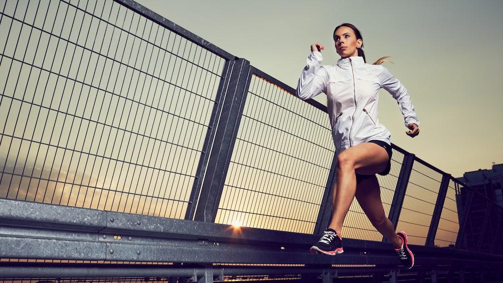 Du behöver inte springa långt, men snabbt!