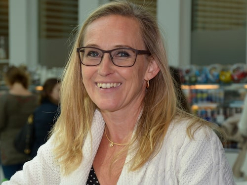 Sandra af Winklerfelt Hammarberg.