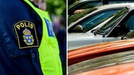 Polisens larm i hettan – hundar lämnas i bilar