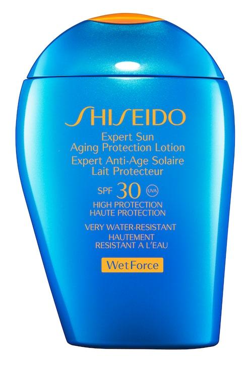 Silkeslen solkräm från Shiseido.