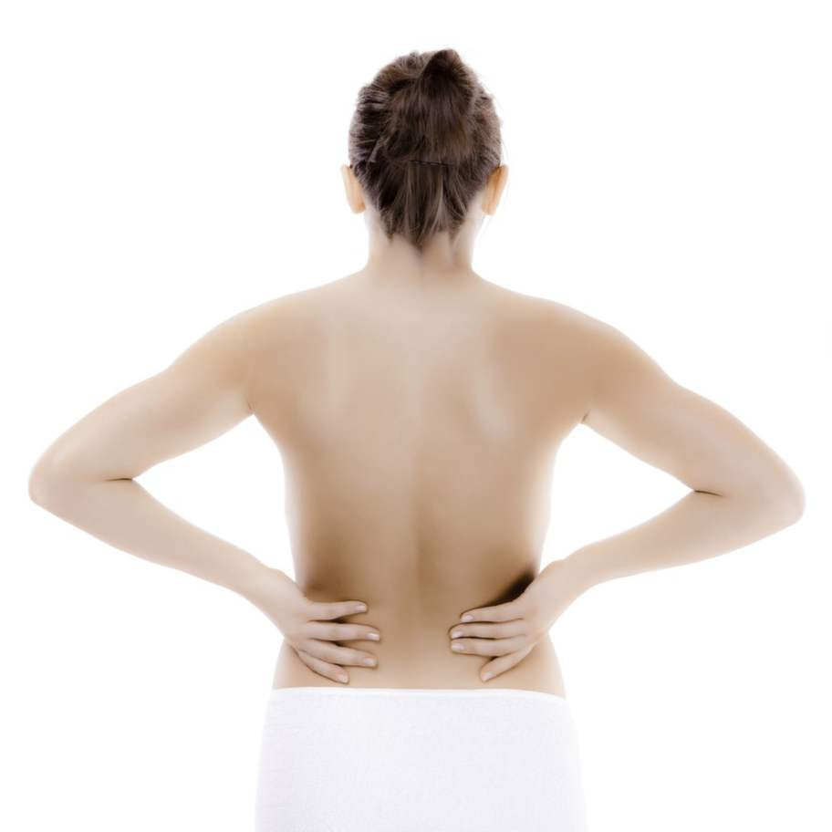 Här får vi ont: * Sidan av naken ut mot axeln.* Området mellan skulderbladen.* Ländryggen.* Nacken från huvudet och rakt ner mellan skulderbladen.
