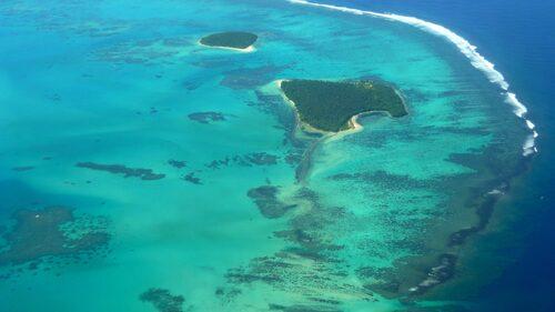 Tonga från ovan.