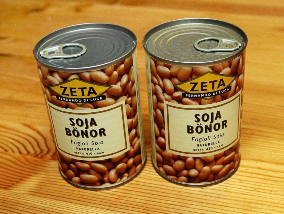 Sojabönor innehåller magnesium.