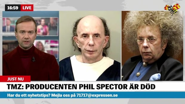 Producentlegenden Phil Spector är död