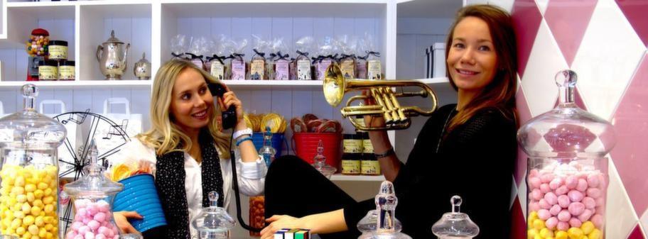 Anna och Josefin-Deckel Nilsson saknade svenskt godis efter flytten till London och har nu öppnat en egen godisbutik.