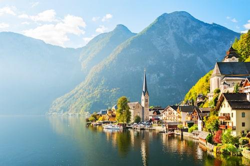 Hallstatt, en av världens vackraste platser.