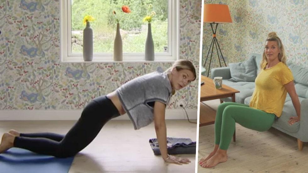 Krångla inte till det! Erika Kits Gölevik ger tips på enkla och effektiva övningar att göra hemma.
