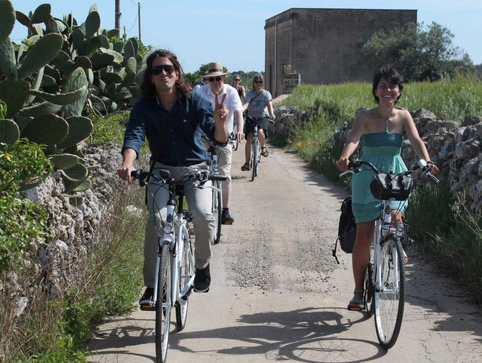 På guidad cykeltur med Salento Bici Tour.