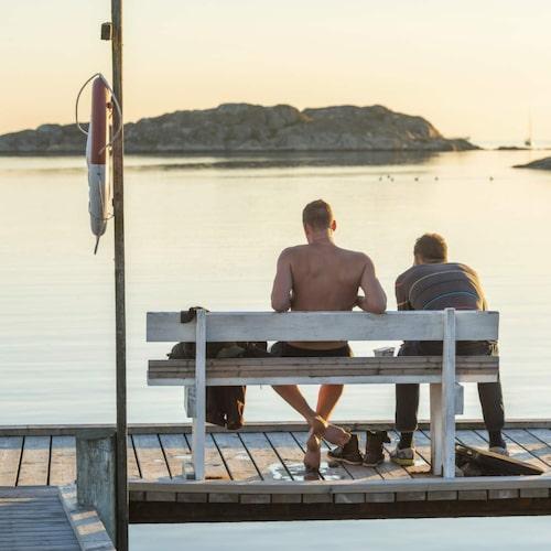 I Göteborg finns alla möjligheter till bad i riktigt saltvatten