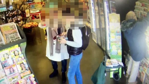 Filmen avslöjar hur kvinnorna stal 81-åriga Barbros plånbok