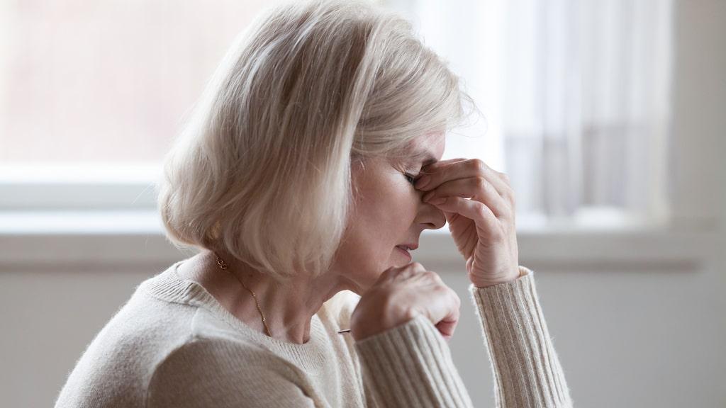 Trötthet kan vara ett symtom vid högt blodtryck