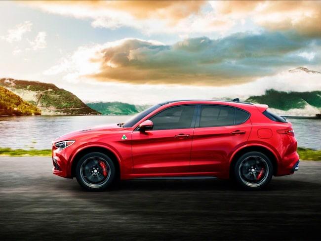 Vi kan vänta oss att få se mer av Alfa Romeos suv-variant Stelvio.